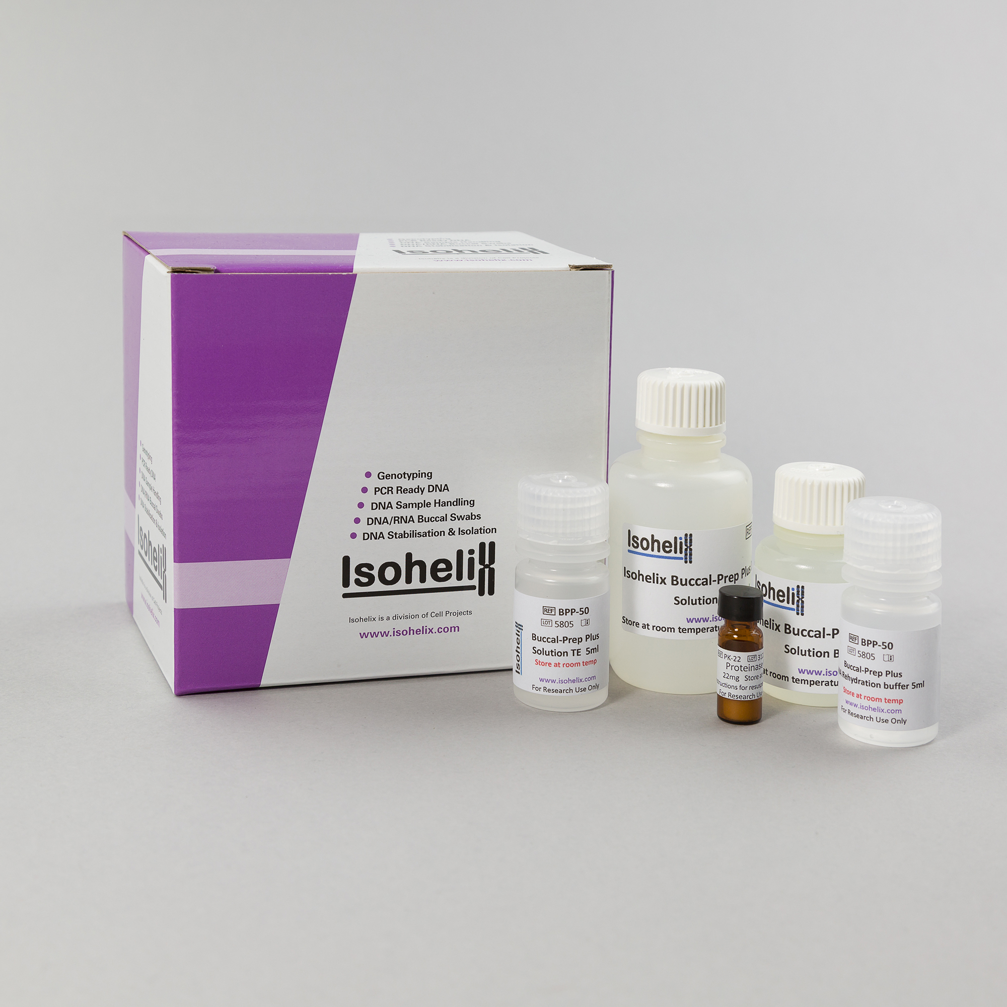 Buccal-Prep Plus DNA Isolation Kit