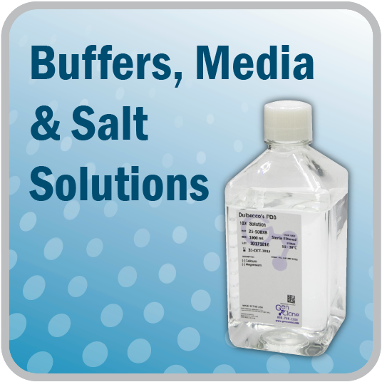 Buffers, Media & Salt Solutions