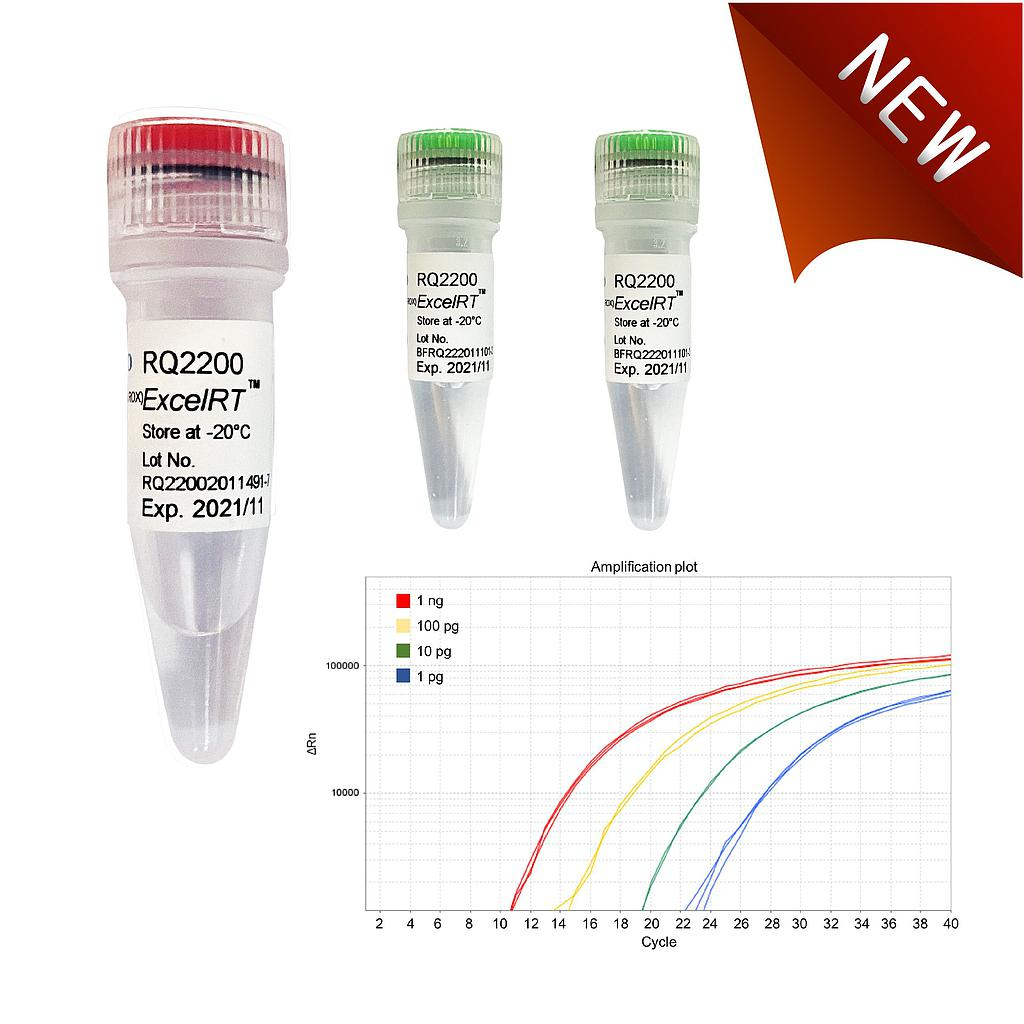 ExcelRT™ One-Step RT-qPCR Kit (TaqMan, no ROX), 200 Reactions - Click Image to Close