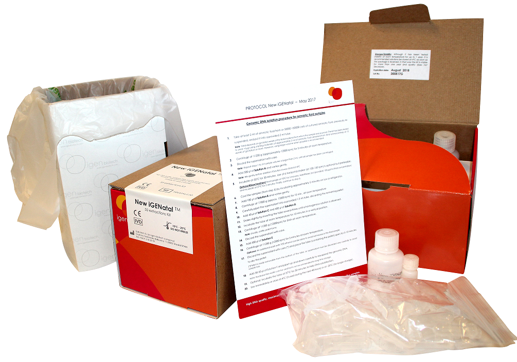 iGENatal Kit - 50 samples - Click Image to Close
